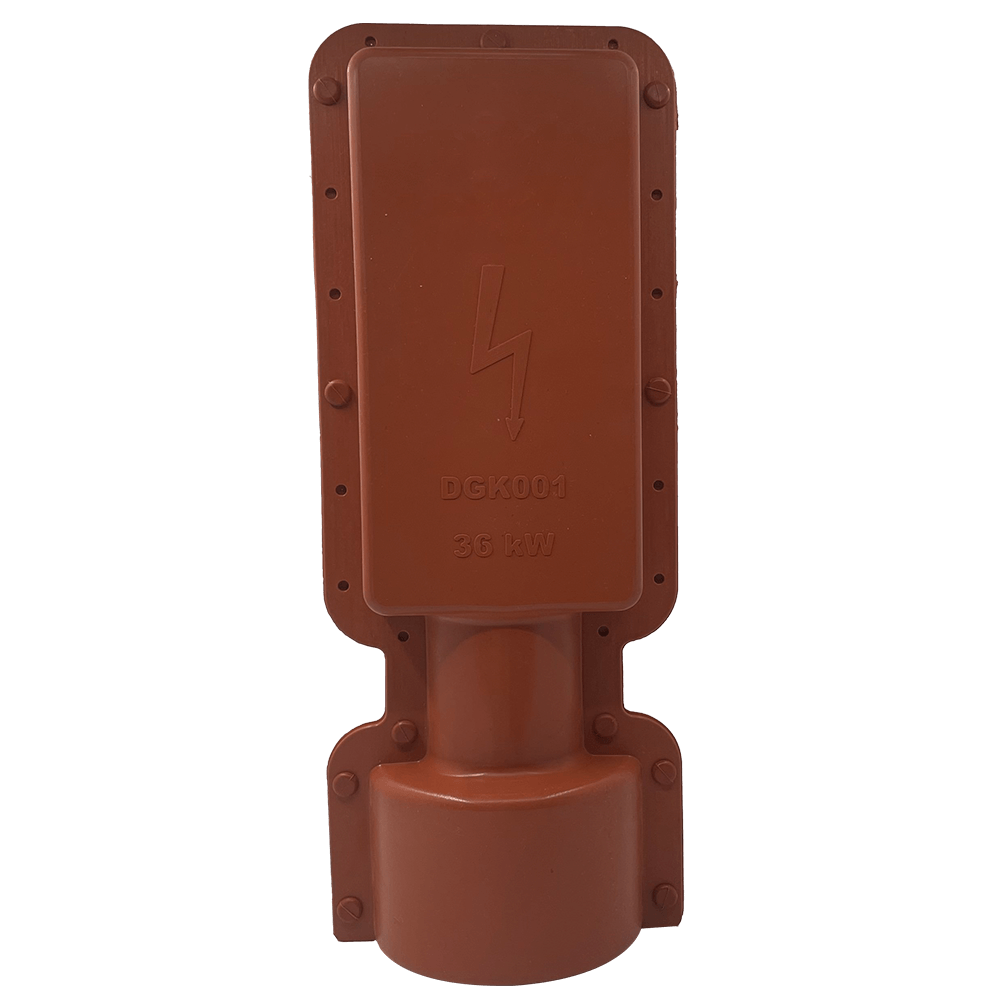 Electrically insulted silicone case Type-A