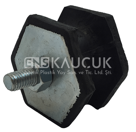 Bolted Rubber Buffer Type BC