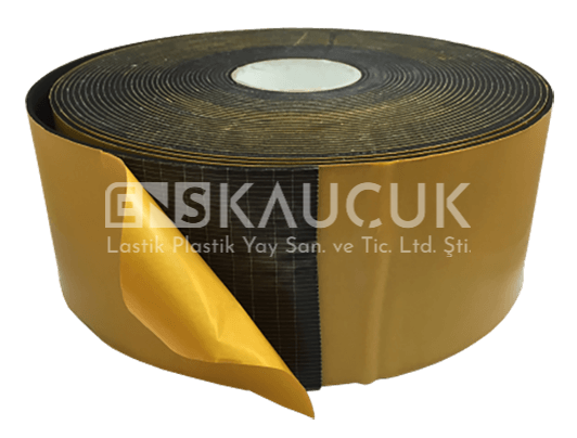 EPDM Foam Strip With One Side Glue For Sealing